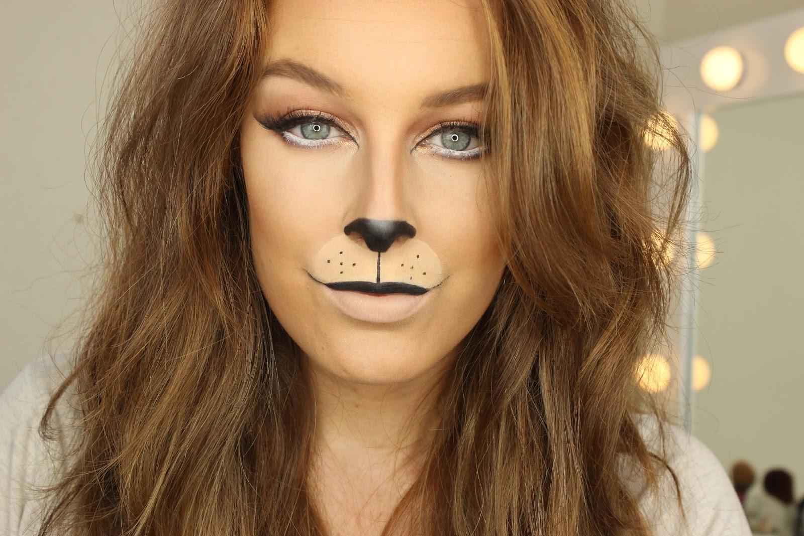 Lion Halloween Makeup  sc 1 st  Zoe Mountford & Halloween Week : Lion Makeup | Zoe Mountford