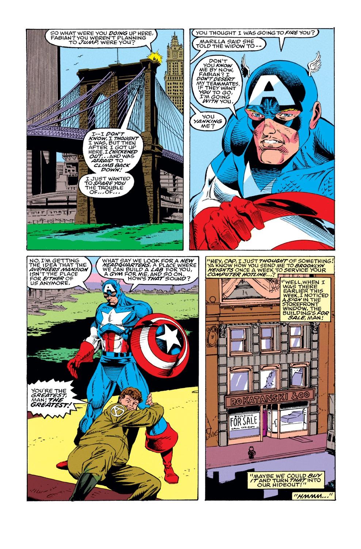 Captain America (1968) Issue #422 #372 - English 23