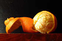 Photo For Challenge 58 - Half Peeled Orange - Jan 11, 2016 -  Feb 21, 2016