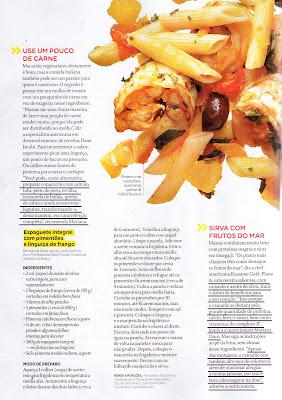 Revista003 - Hummm... Seja bem vindo, macarrão: Mariana Duro na Women's Health