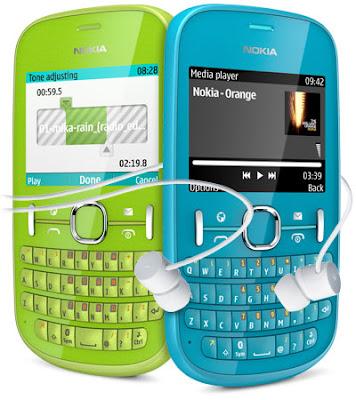 new Nokia Asha 201 Touchscreen Phone