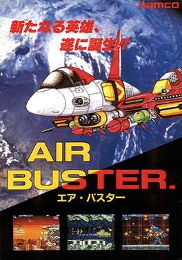 Air Buster arcade game flyer