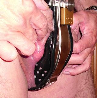 genitalien abbinden melkfett als gleitgel