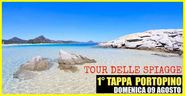 FOTO TOUR DELLE SPIAGGE PORTOPINO