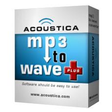 تحميل برنامج التحويل من MP3 الى Wave  مجانا free download MP3 To Wave 1.2