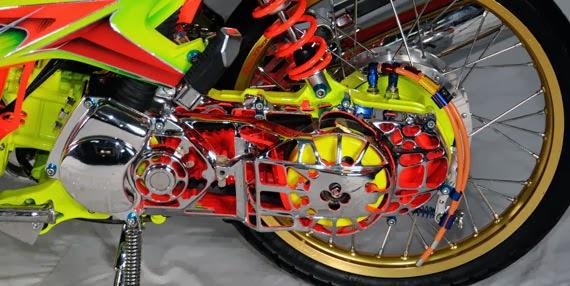 Modifikasi Motor Yamaha Xeon 125 Nano-Nano : MODIFIKASI MOTOR title=