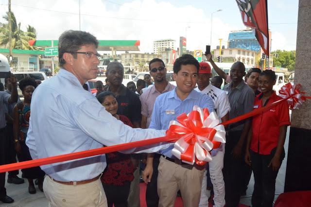 KFC wafungua mgahawa mpya eneo la Kariakoo jijini Dar