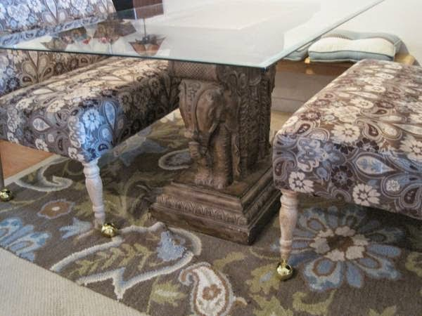 If You Donu0027t Need A Dining Table You Could Easily Use The Great Elephant  Base As A