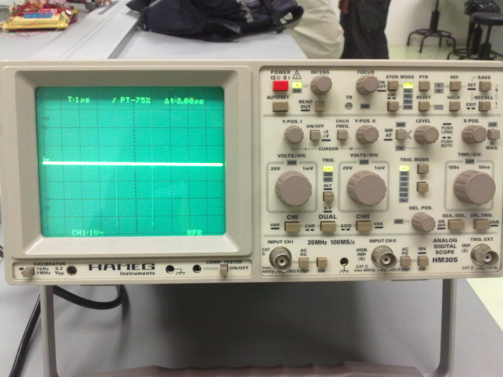 Cathode Ray Oscilloscope : Bit and nibble major project data acquisition daq