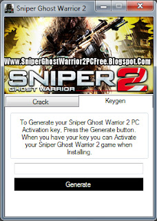 Sniper Ghost Warrior Keygen