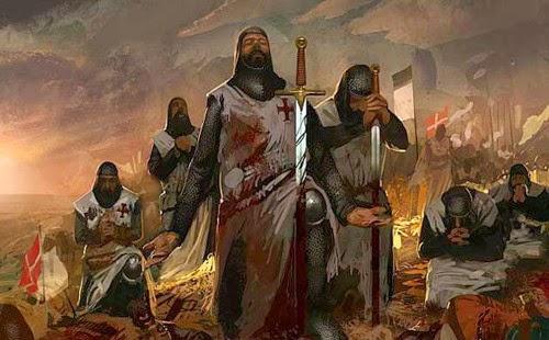 Caballeros Templarios, masones, illuminati