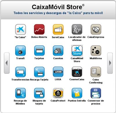 CaixaMóvil Store