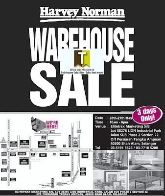 Harvey Norman The Electrical & I.T Warehouse Sale 2012