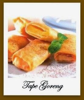 Resep dan Cara Membuat Tape Goreng Kulit Lumpia Isi Keju