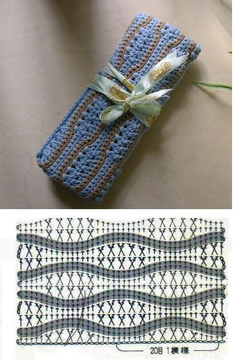 Organizador Para Baño A Crochet:Patron Crochet Organizador Agujas – Patrones Crochet