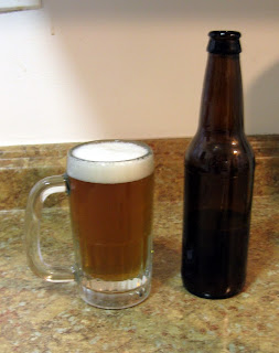 Heather ale, a homebrewed gruit.