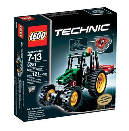 onetwobrick11  LEGO set database  LEGO set database  8281 mini tractor