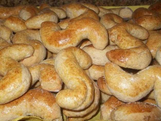 Receita de Biscoitos Alentejanos