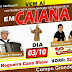 Dia 03 de Outubro tem a Centésima Festa do Padroeiro São Francisco na Comunidade Caiana em Campo Grande