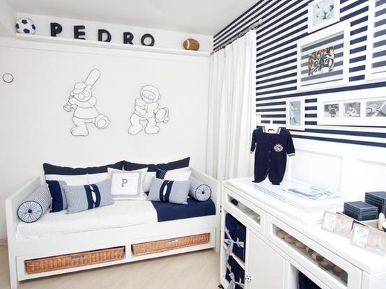 design interiores decoracao quarto bebe: Dottori – Arquitetura e Interiores: Quartos de bebê Masculino