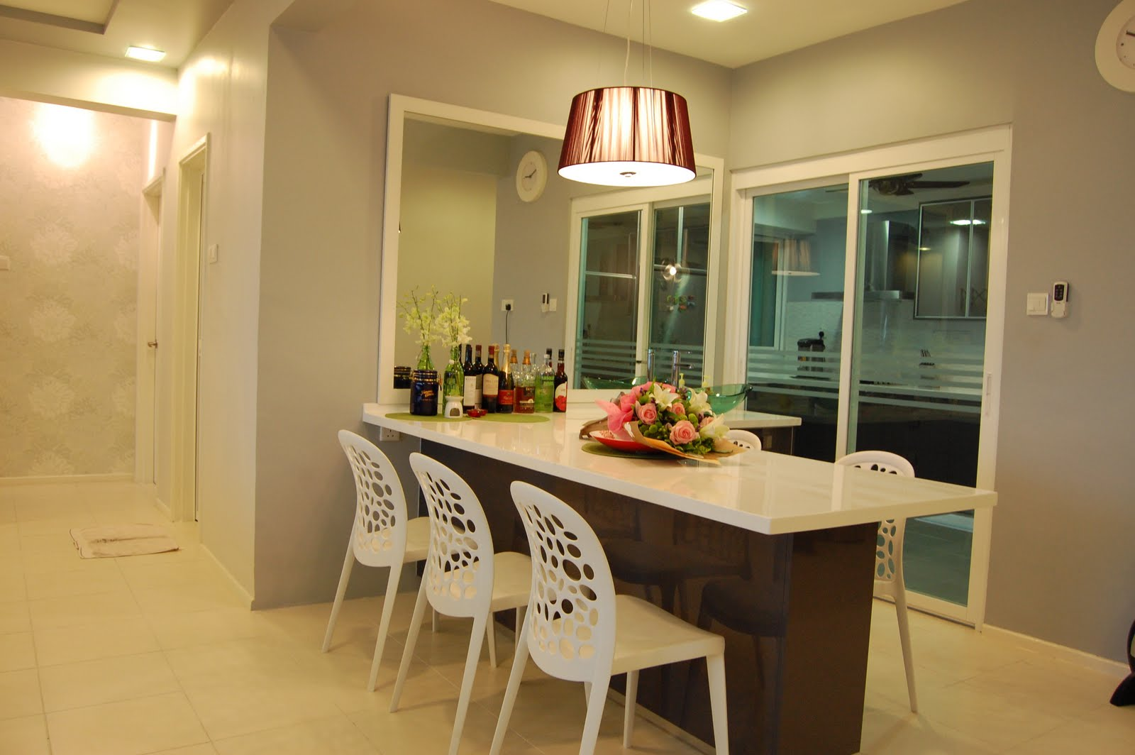 small apartment interior design malaysia slate table lamps image