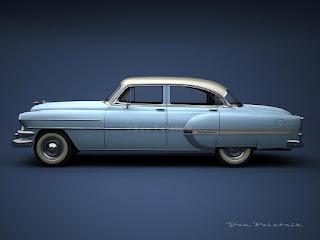 A garagem digital de dan palatnik the digital garage for 1954 belair 4 door sedan