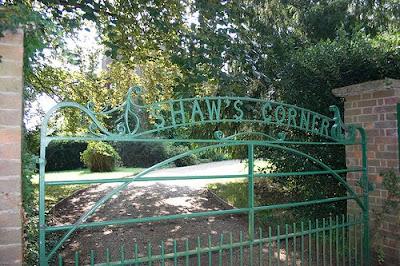 Gate at Shaw's Corner
