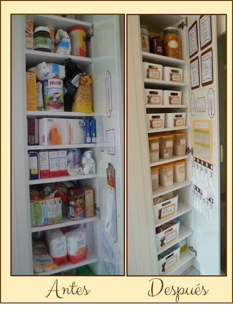 Se acab el desorden marzo 2014 for Mueble estrecho cocina