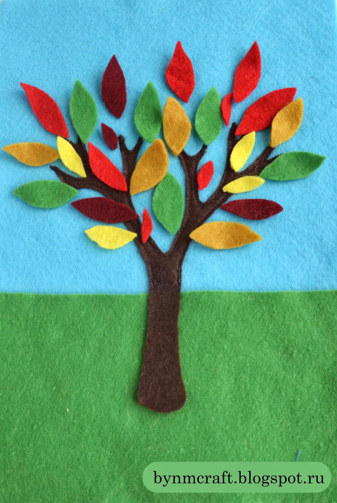 Как сделать бумажное дерево для детей 67