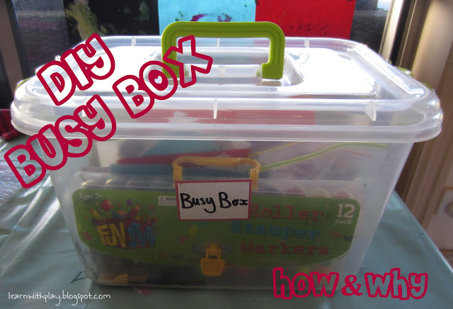 busy box for kids, keep kids busy, independent play for kids