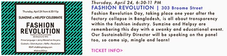 fashion revolution day nyc