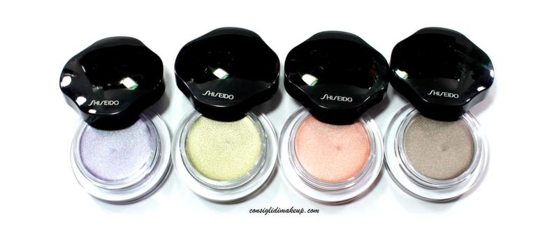 ombretti in crema shiseido