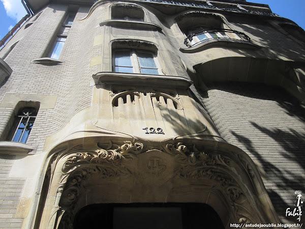 hector guimard art nouveau paris 16eme hotel 122 avenue mozart art nouveau as tu deja oublie 1902 1913