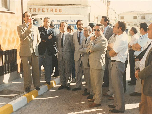 Inauguración Avenida Castilla-La Mancha. Año 1985