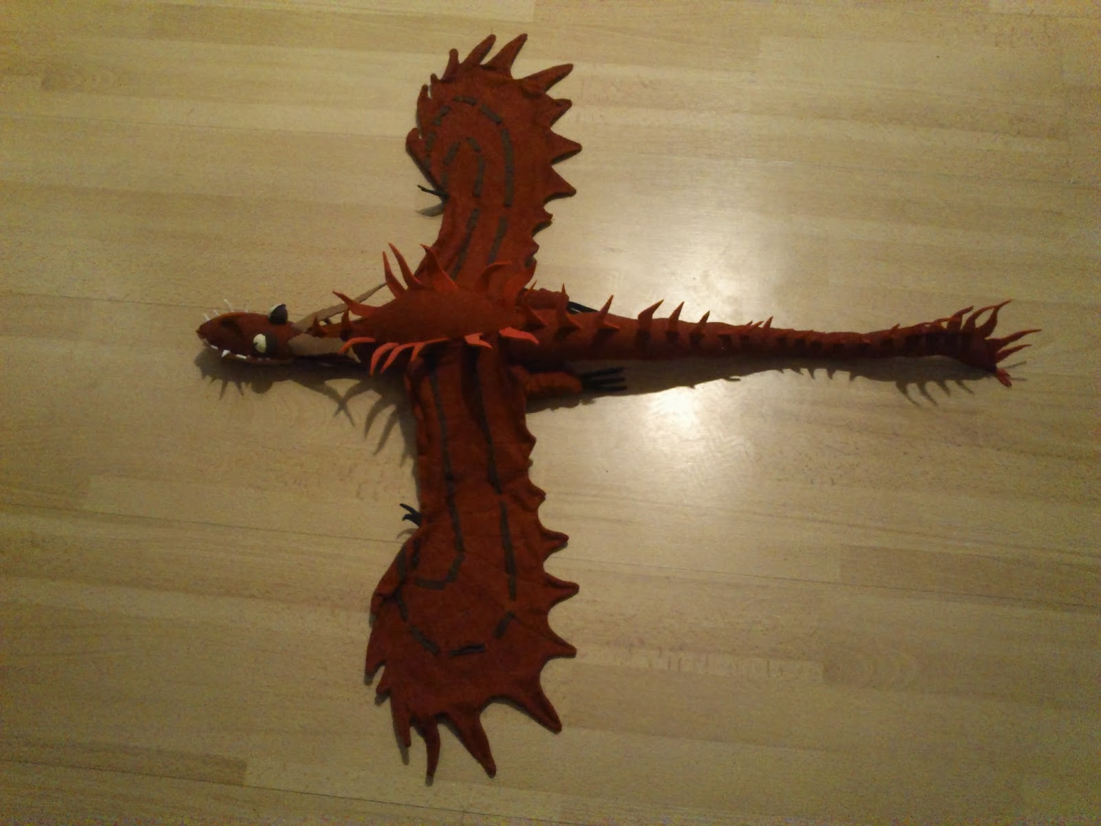 How to sew your dragon fanciful sewings hookfang the monstrous nightmare ccuart Images