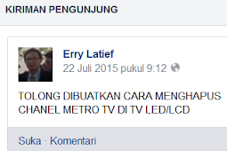 Cara Menghapus Chanel Metro TV Di TV LED/LCD