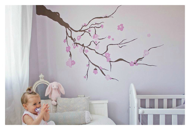 Muebleando otra vez dos descubrimientos - Pinturas habitaciones infantiles ...