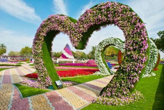 Al-Ain Paradise un Jardín de ensueño en el Desierto de Rahhal ...
