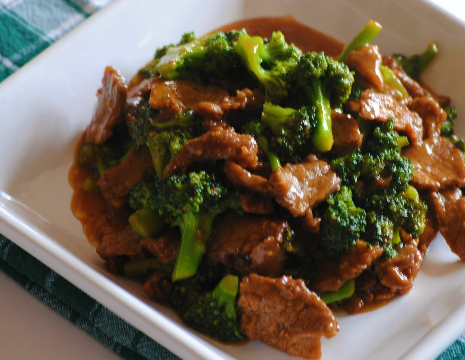 enough and delicious broccoli beef my very favorite chinese food