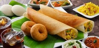 South Indian Food Menu