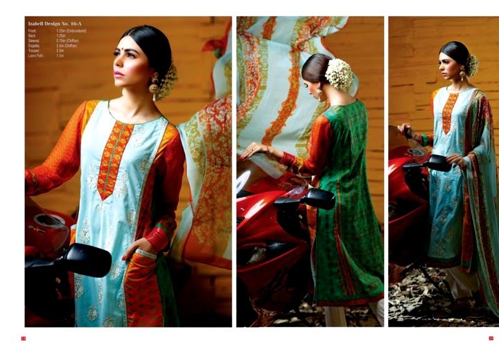 House of Ittehad Eid Collection 2014
