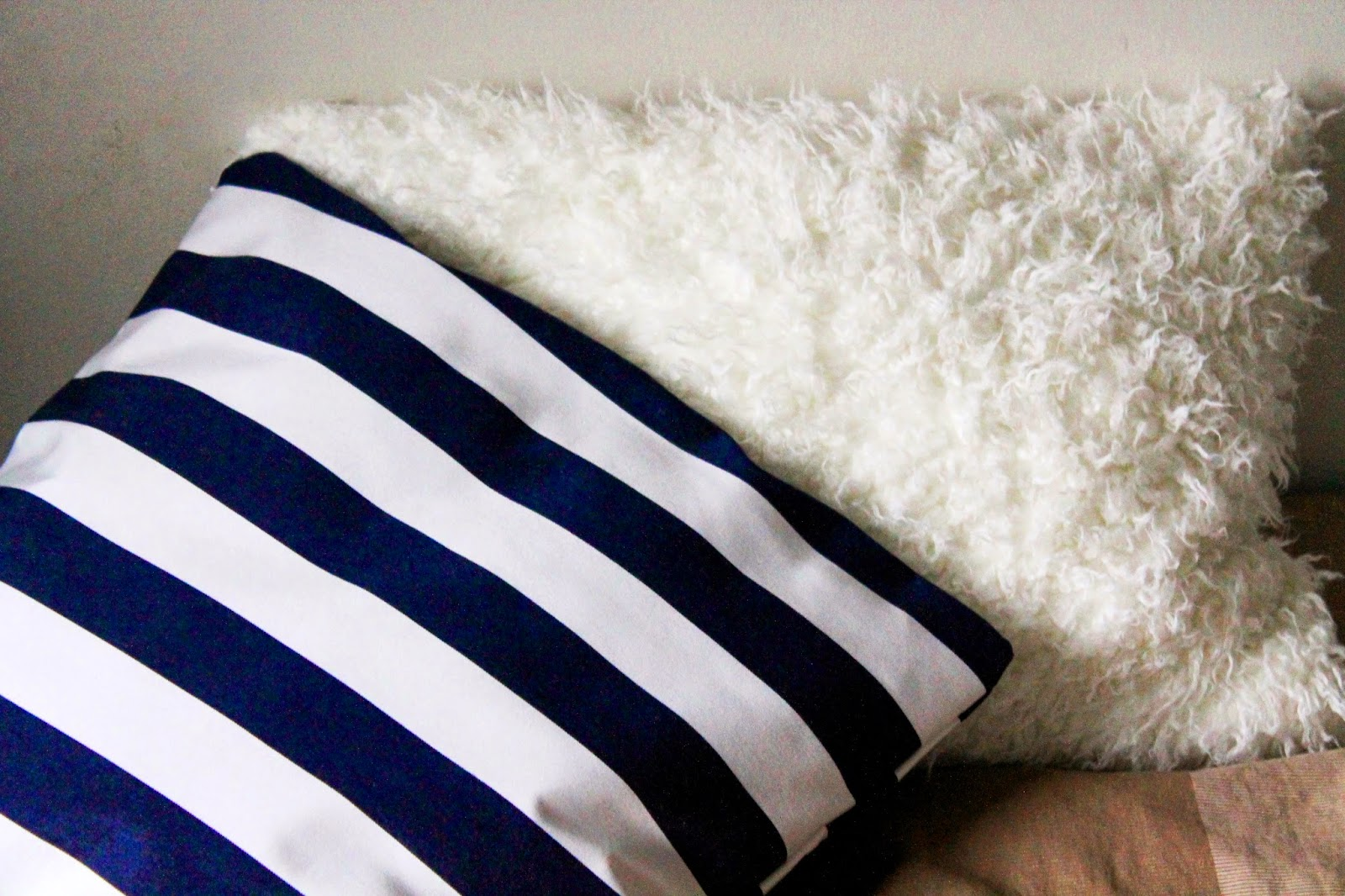 After pic | Alinan kotona blo #pillowmakeover #pillowcase #home #decor #DIY