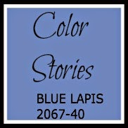 COLOR STORIES Cobalt Blue