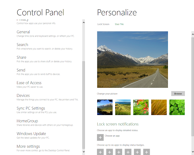 Everything Windows 10 My Windows 8 Developer Preview