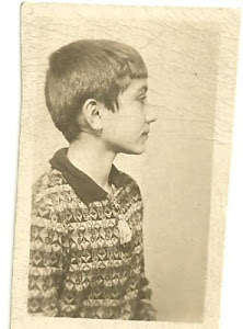 Tom as a young boy