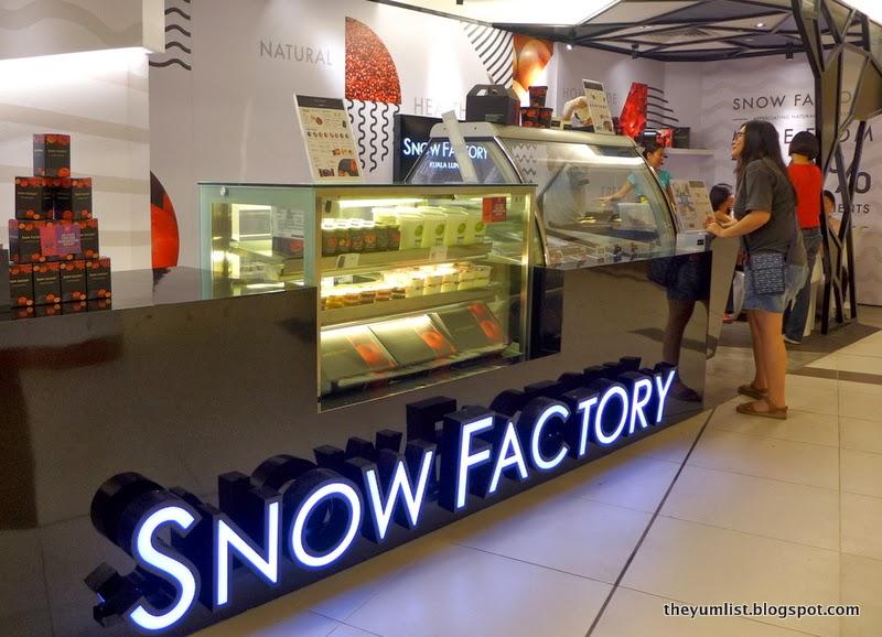 Snow Factory, Avenue K, healthy desserts, frozen yoghurt