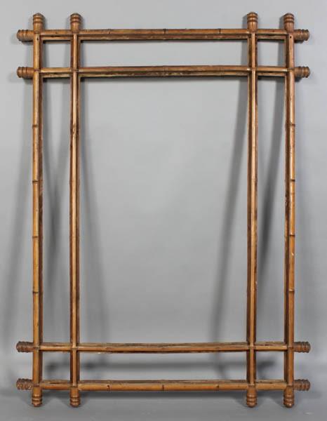 Bamboo Mirror Frame2
