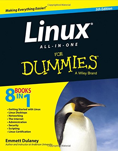 Linux All-In-One For Dummies, Fifth Edition