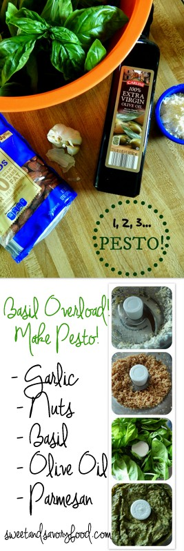 homemade pesto (sweetandsavoryfood.com)