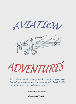 Aviation Adventures Activity Book Now Available
